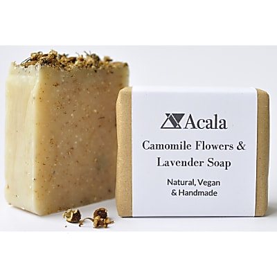 Acala Chamomile Flowers and Lavender Soap
