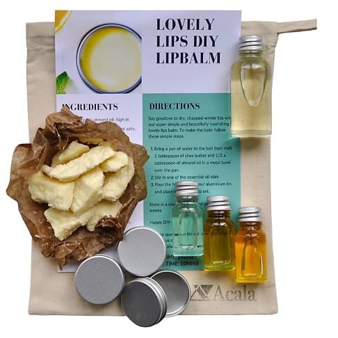 Acala Make Your Own Lip Balm DIY Kit