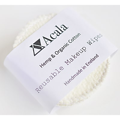 Acala Reusable Hemp & Organic Cotton make-up wipes