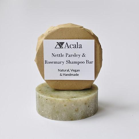Acala Nettle Parsley and Rosemary Shampoo Bar
