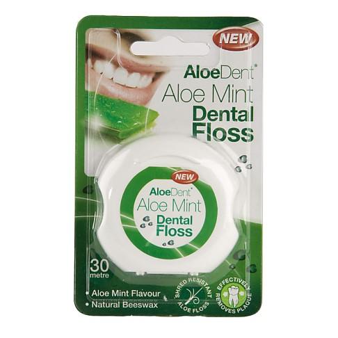 AloeDent Aloe Mint Dental Floss
