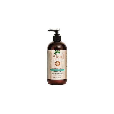 A'kin Fragrance Free Mild & Gentle Body Wash 500ml