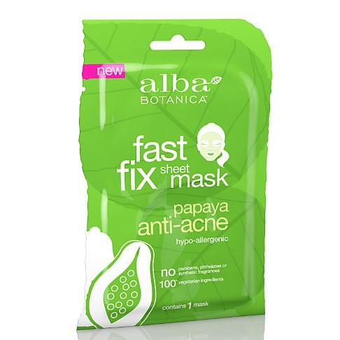 Alba Botanica Papaya Anti-Acne Sheet Mask
