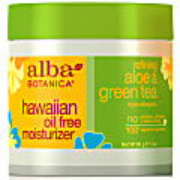 Alba Botanica Hawaiian Aloe & Green Tea Oil-Free Moisturiser