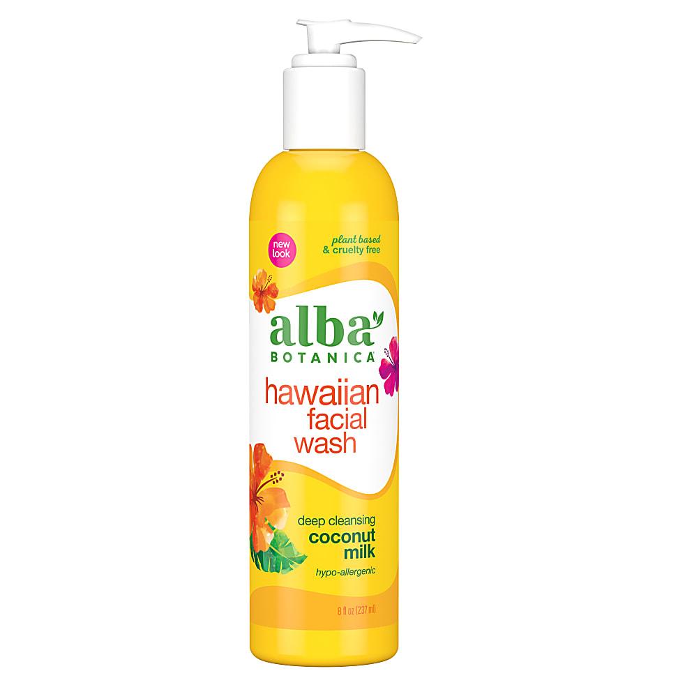 alba coconut milk facial wash