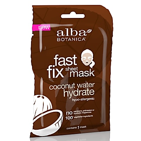 Alba Botanica Coconut Water Hydrate Sheet Mask