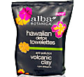 Alba Botanica Hawaiian Detox Volcanic Clay Towelettes (30 wipes)