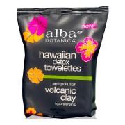 Alba Botanica Hawaiian Detox Volcanic Clay Towelettes (30 wipes)