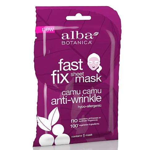 Alba Botanica Camu Camu Anti Wrinkle Sheet Mask