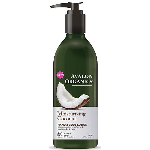 Avalon Organics Hand & Body Lotion  - Moisturizing Coconut