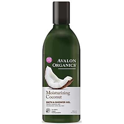 Avalon Organics Bath and Shower Gel - Moisturizing Coconut