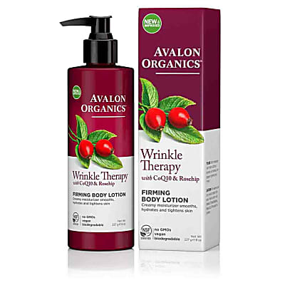 Avalon Organics Wrinkle Therapy Firming Body Lotion with CoQ10 & Rosehip