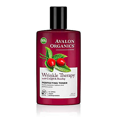Avalon Organics Wrinkle Therapy Perfecting Toner with CoQ10 & Rosehip