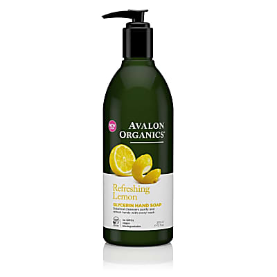 Avalon Organics Glycerin Hand Soap - Refreshing Lemon