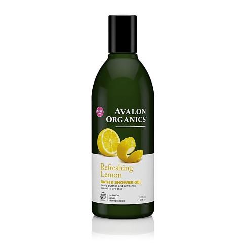 Avalon Organics Bath and Shower Gel - Refreshing Lemon