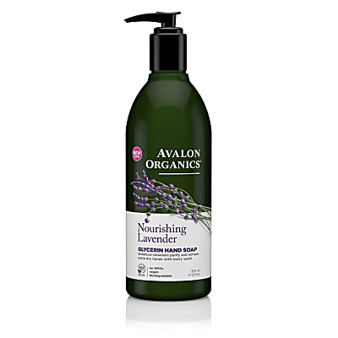 Avalon Organics Glycerin Hand Soap - Nourishing Lavender