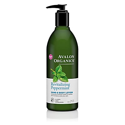 Avalon Organics Hand & Body Lotion - Revitalizing Peppermint