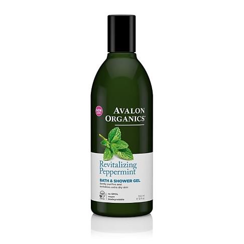 Avalon Organics Bath and Shower Gel - Revitalizing Peppermint