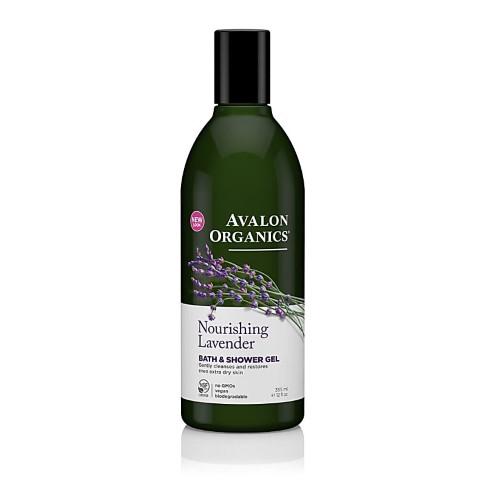 Avalon Organics Bath and Shower Gel - Nourishing Lavender