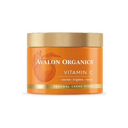 Avalon Organics Intense Defence Renewal Cream