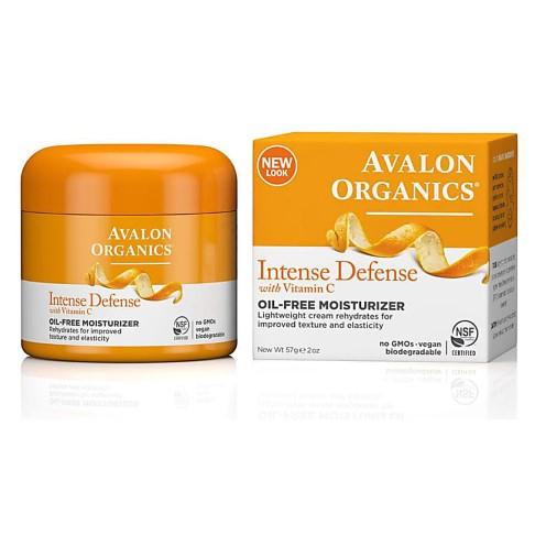 Avalon Organics Intense Defence Oil-Free Moisturiser