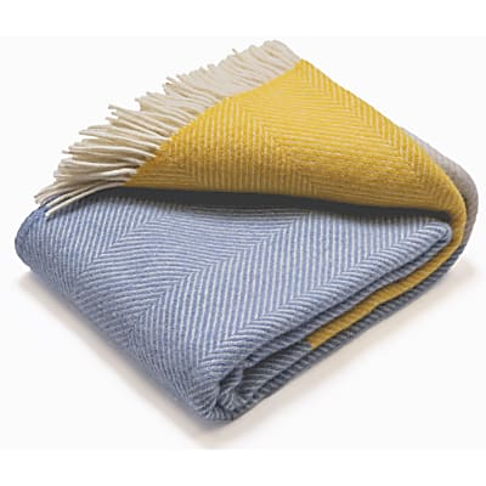 Atlantic Blankets 100% Wool Blanket - Dawn Tides