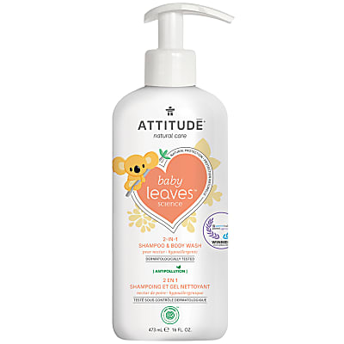 Attitude Baby Leaves 2 in 1 Shampoo & Body Wash - Pear Nectar