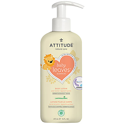 Attitude Baby Leaves Natural Body Lotion - Pear Nectar