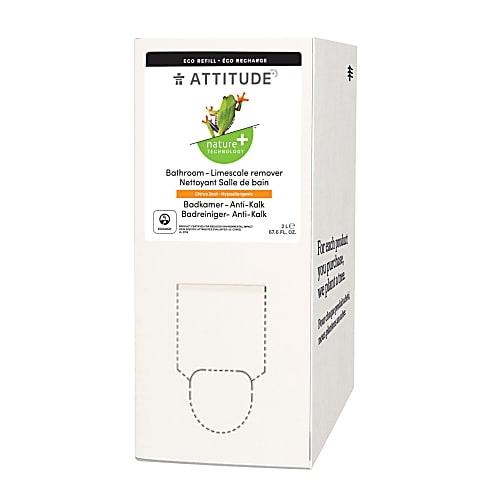 Attitude Bulk to Go 2L Bathroom Cleaner - Citrus Zest