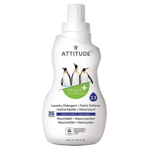 Attitude 2-in-1 Laundry Detergent & Fabric Softener