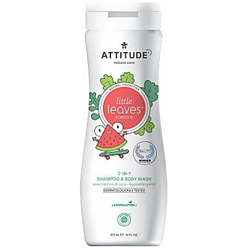 Attitude Little Leaves 2 in 1 Shampoo - Watermelon & Coco