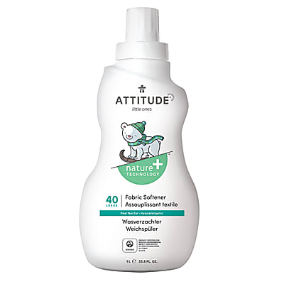 Attitude Little Ones Baby Fabric Softener - Pear Nectar (40 washes)