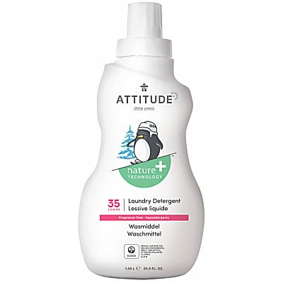 Attitude Little Ones Baby Laundry Detergent - Fragrance Free (35 washes)