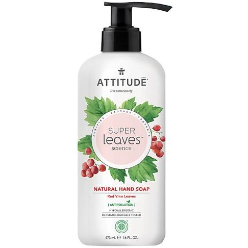 Attitude Super Leaves Natural Hand Soap - Red Vine Leaves