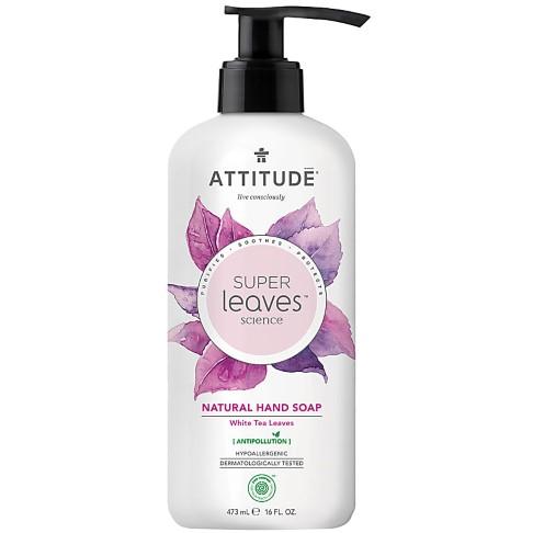 Attitude Super Leaves Natural Hand Soap - White Tea Leaves