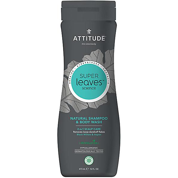 Attitude Super Leaves Shampoo & Bodywash 2 in 1 Scalp Care