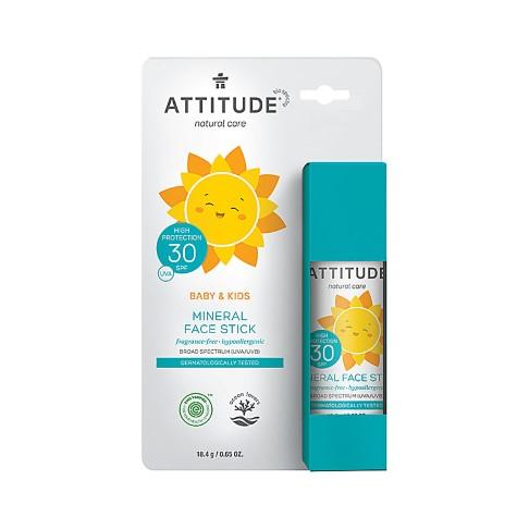 Attitude 100% Mineral Face Stick SPF 30