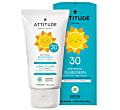 Attitude Baby & Kids 100% MineralSunscreen SPF 30 - Fragrance Free 150g