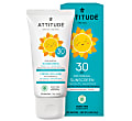 Attitude Baby & Kids 100% MineralSunscreen SPF 30 - Fragrance Free 75g