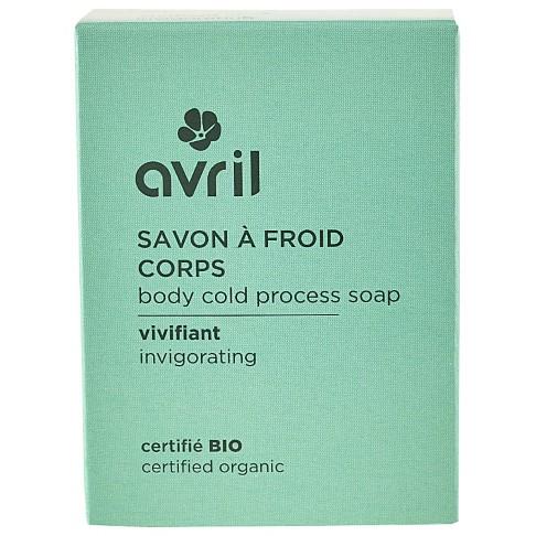 Avril Body Cold Process Soap - Invigorating 100g