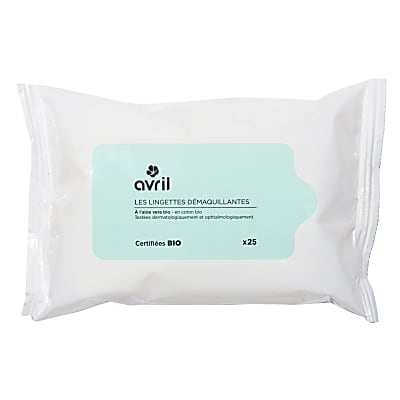 Avril cleansing wipes (25 wipes)