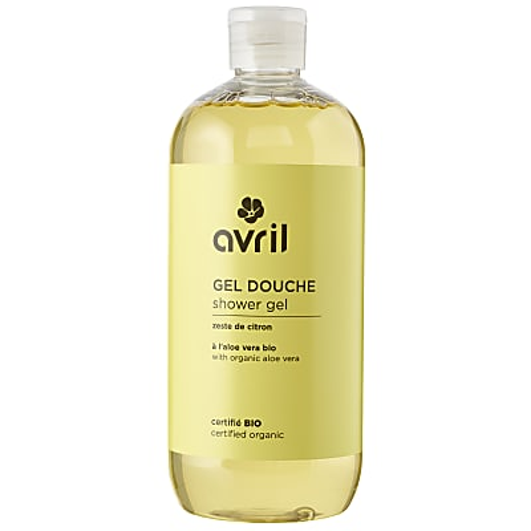 Avril Organic Shower Gel - Zeste de Citron 500 ml