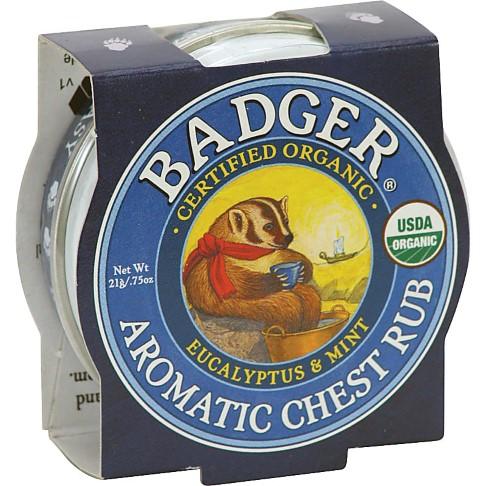 Badger Mini Aromatic Chest Rub