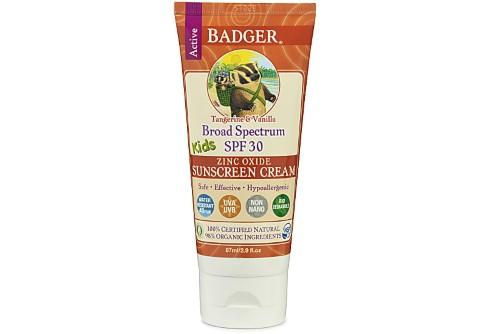 Badger Suncreen for Kids - SPF30 - expires 4/18