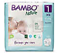 Bambo Nature Disposable Nappies - New Born - Size 1 - Pack of 22