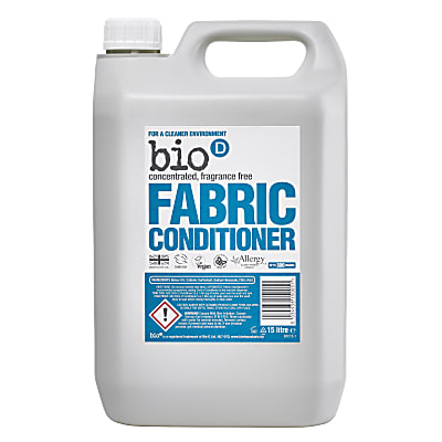 Bio-D Fragrance Free Fabric Conditioner 5L