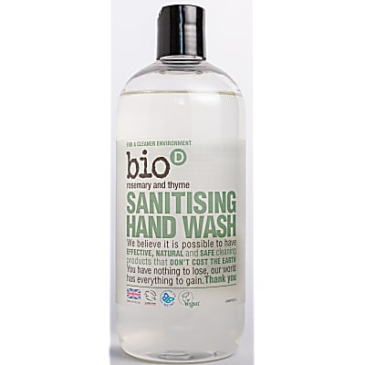 Bio-D Sanitising Hand Wash Rosemary & Thyme - 500ml