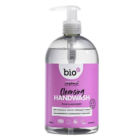 Bio-D Plum & Mulberry Sanitising Hand Wash 500ml