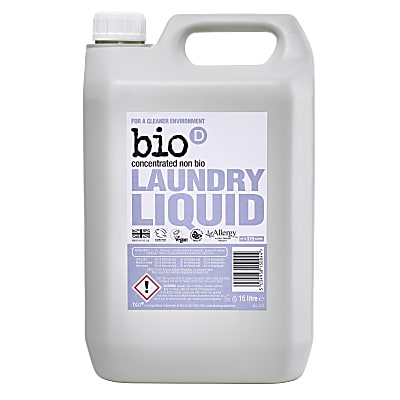 Bio-D Concentrated Fragrance Free Laundry Liquid 5L
