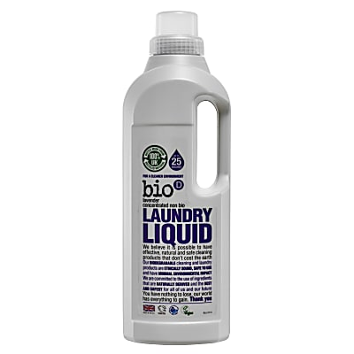 Bio-D Concentrated Laundry Liquid with Lavender - 1L